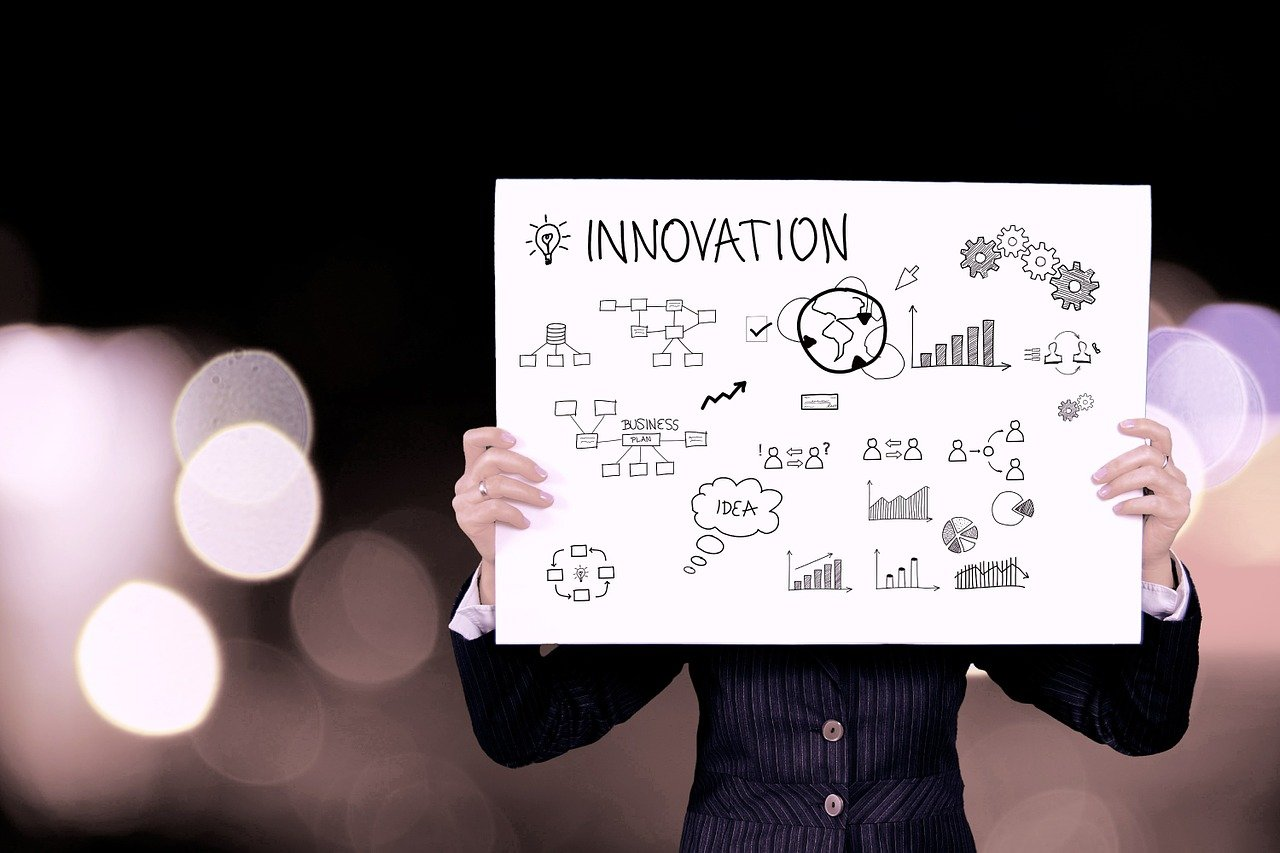 innovation, business, information